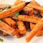 Zippy Sweet Potato Fries with Paleo Ketchup