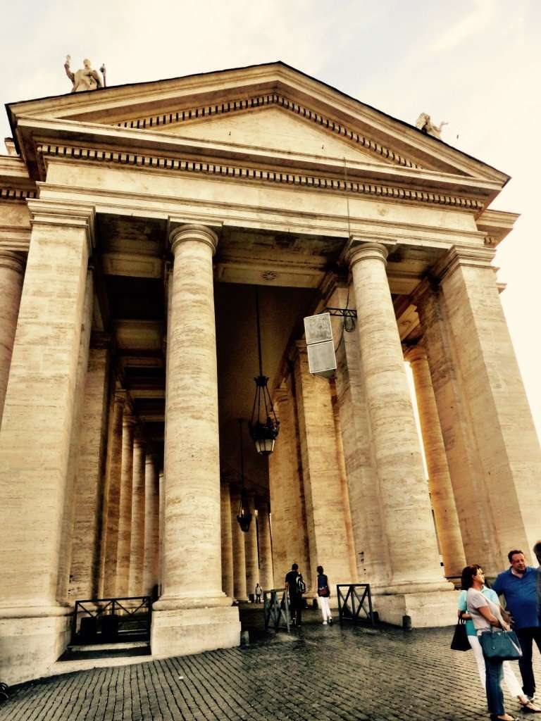 Bernini's colonnades