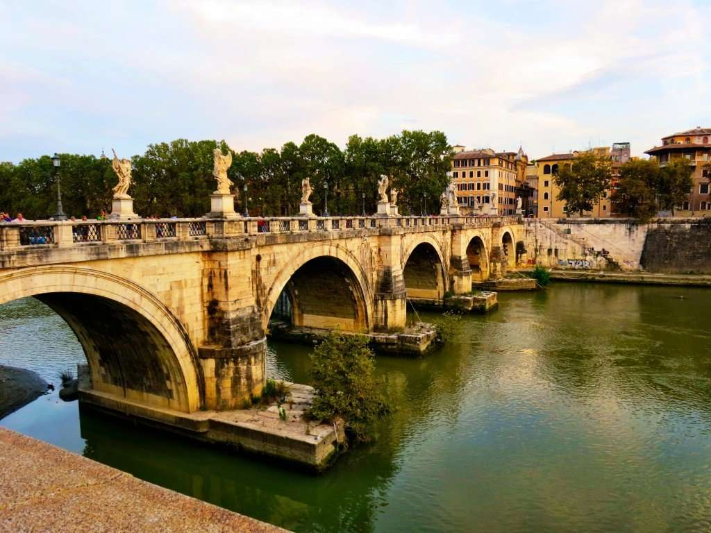 Along the Tiber River to Vatican City