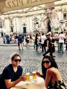 Cheers to Piazza Navona!