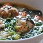 Paleo Italian Wedding Soup with Meatballs