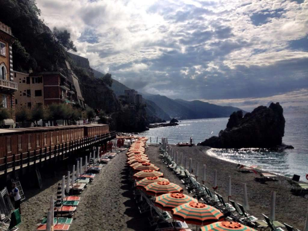 View of Monterosso Beach