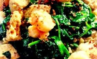 Garlic Pepper Chicken and Shrimp