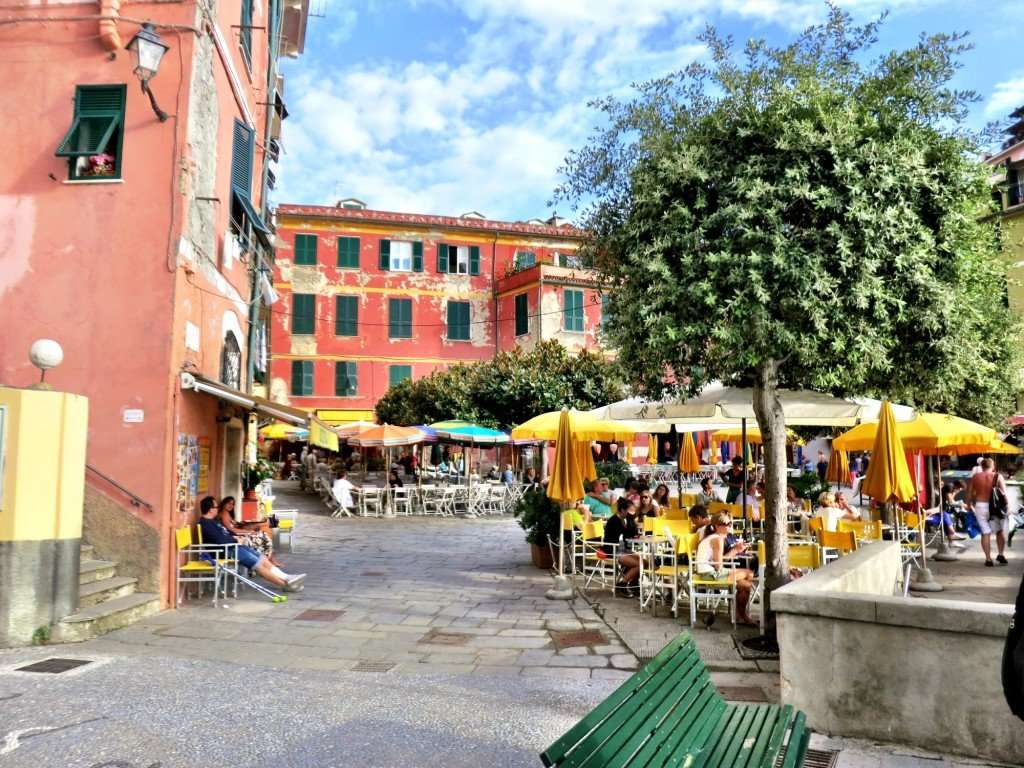 Stop for a drink or gelato in the piazza