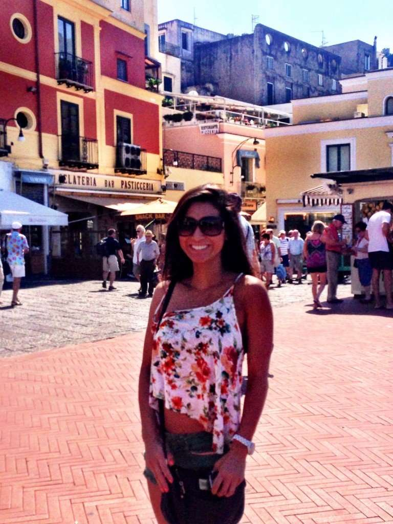 In the heart of the Piazzetta