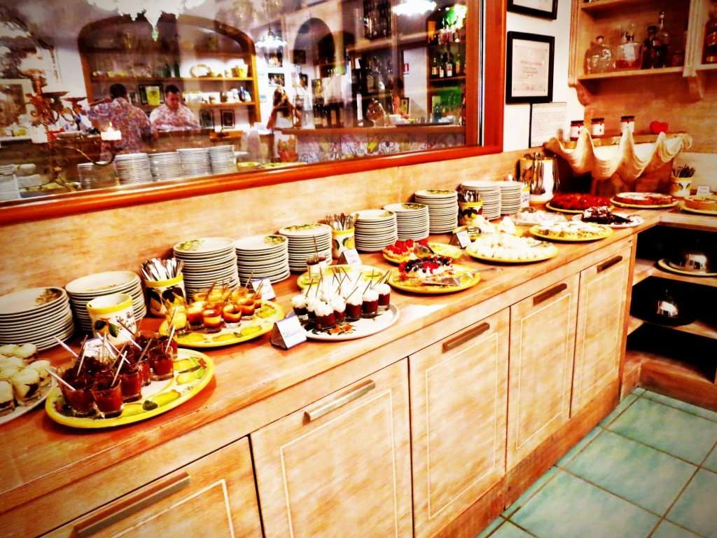 Complimentary dessert buffet...yes, please!