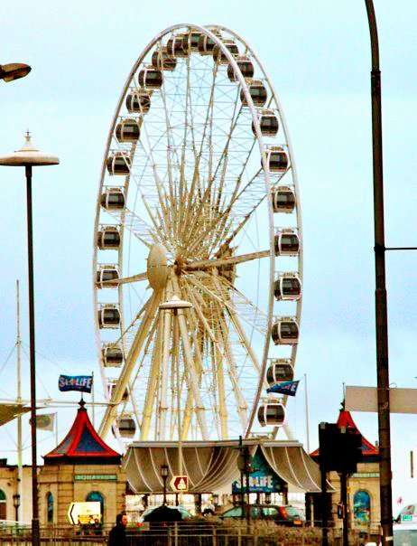 Ferris wheel at Brighton Pier