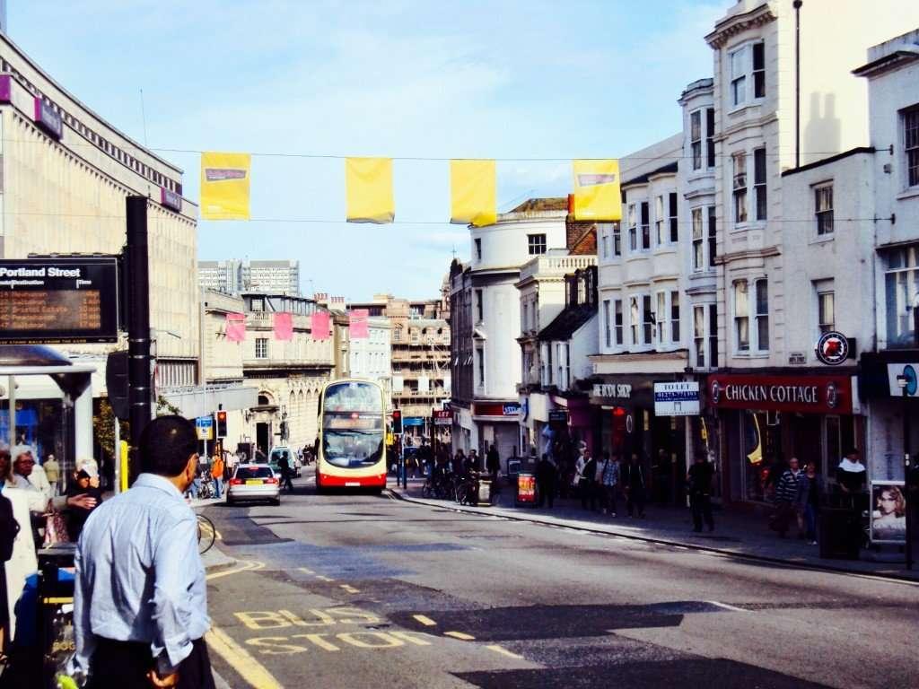 Charming Brighton town