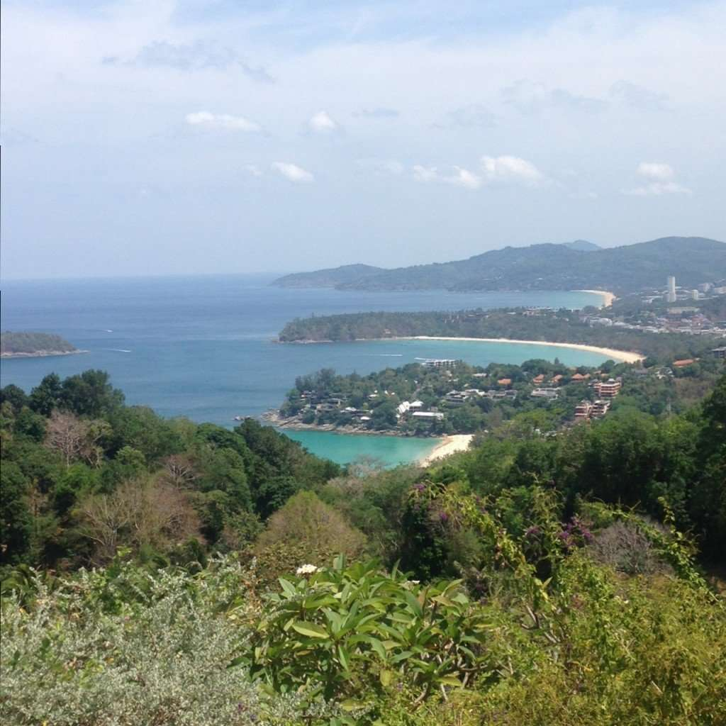 Beautiful Karon viewpoint