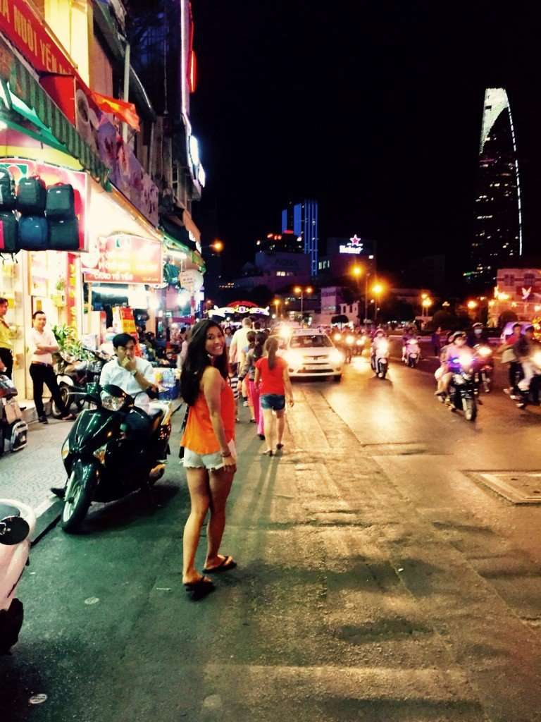 Lost in the streets of Ho Chi Minh city
