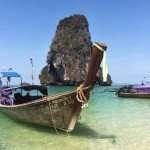 A glimpse of Phra Nang beach (Krabi, Thailand)