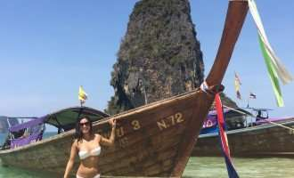 Beautiful Phra Nang Beach